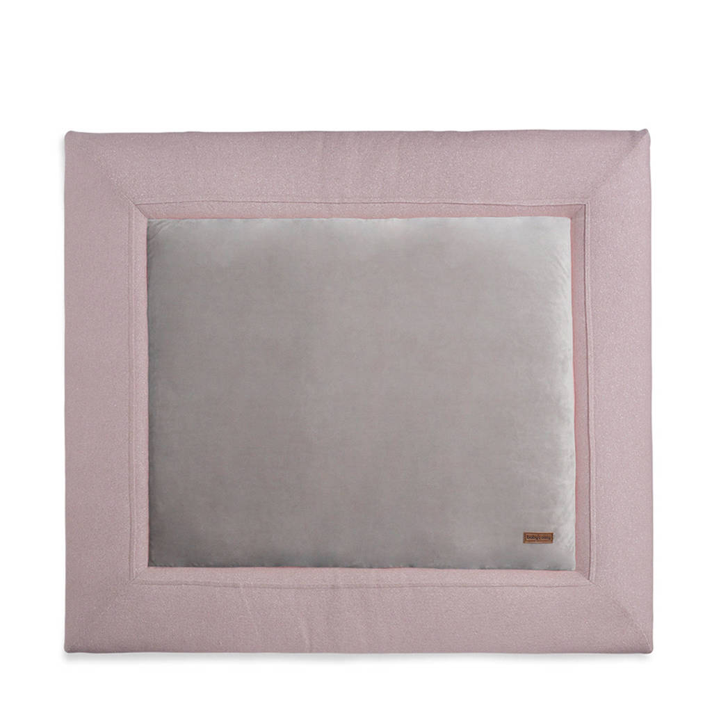 Baby's Only boxkleed Sparkle 75x95 cm roze/zilver, Roze/Zilver