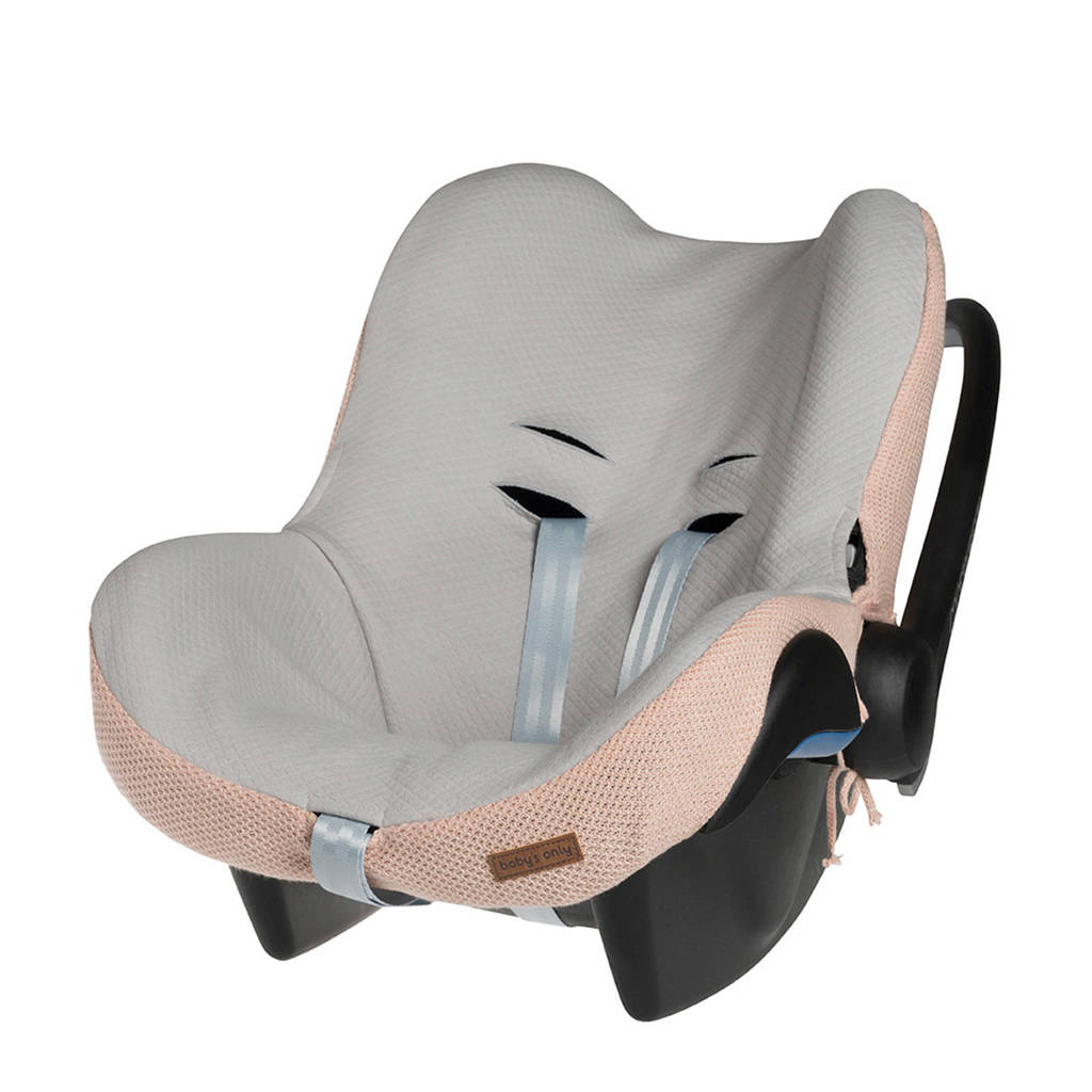 Baby's Only Classic autostoelhoes Maxi-Cosi 0+ lichtroze, Lichtroze