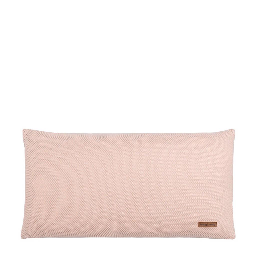 Baby's Only sierkussen 60x30 cm roze, Roze