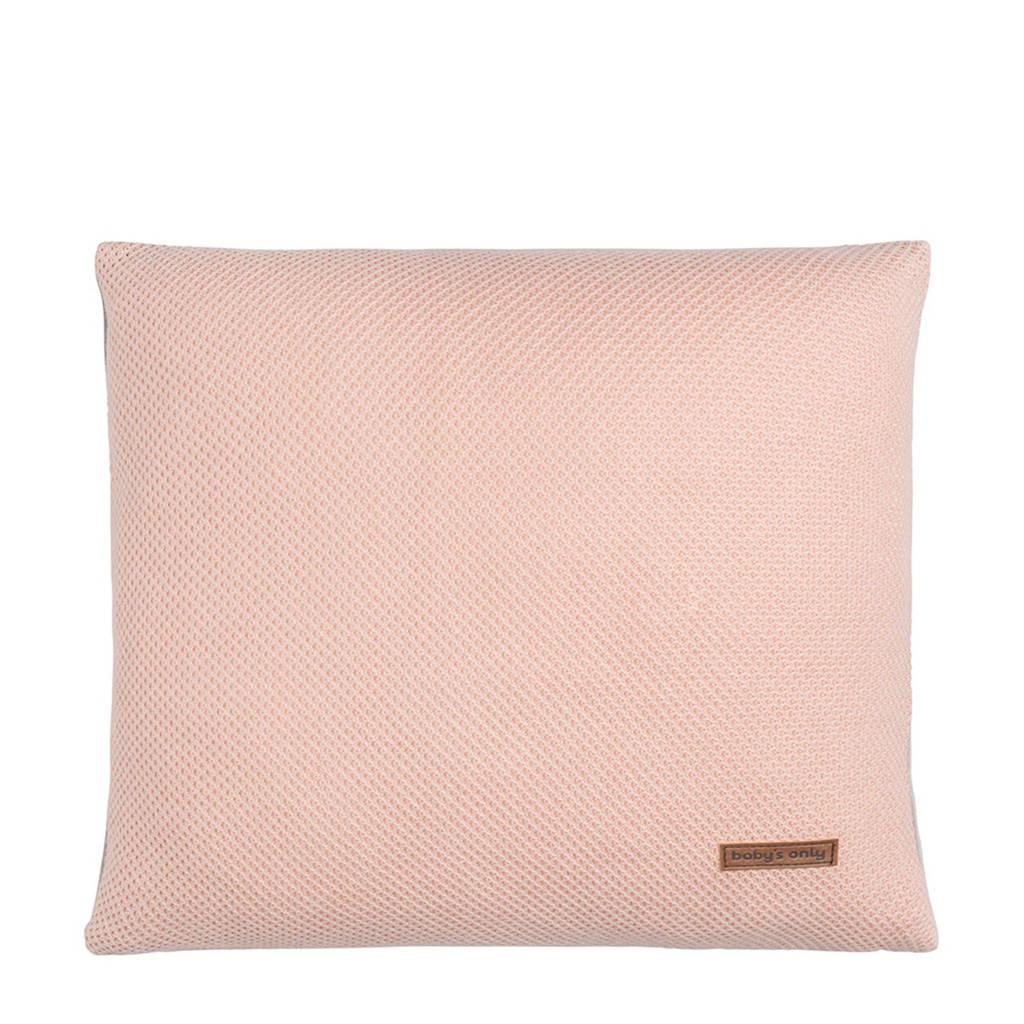 Baby's Only Classic sierkussen 40x40 cm roze, Roze