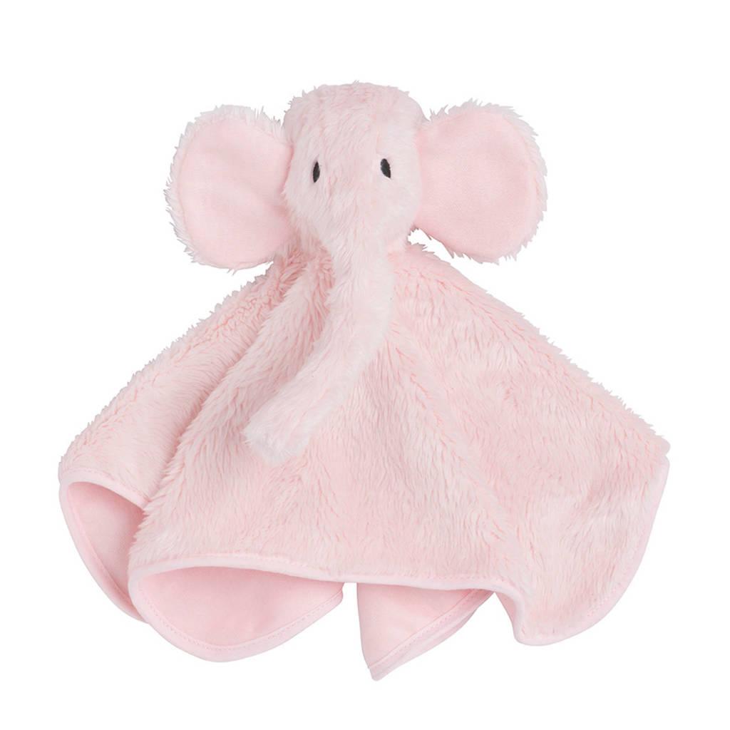 Baby's Only nuffeldoek Olifant roze knuffeldoekje, Roze