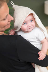 Baby's Only Sparkle omslagdoek soft 82x82 cm goud-ivoor mêlee, Goud-ivoor mêlee