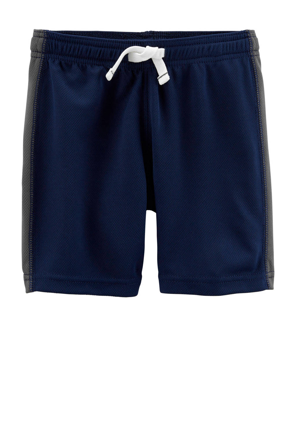 Carter's   sportshort met zijstreep blauw, Donkerblauw