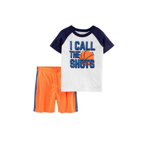 Carter's shortama met basketbal