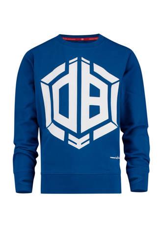 sweater Nino met logo van Daley Blind blauw