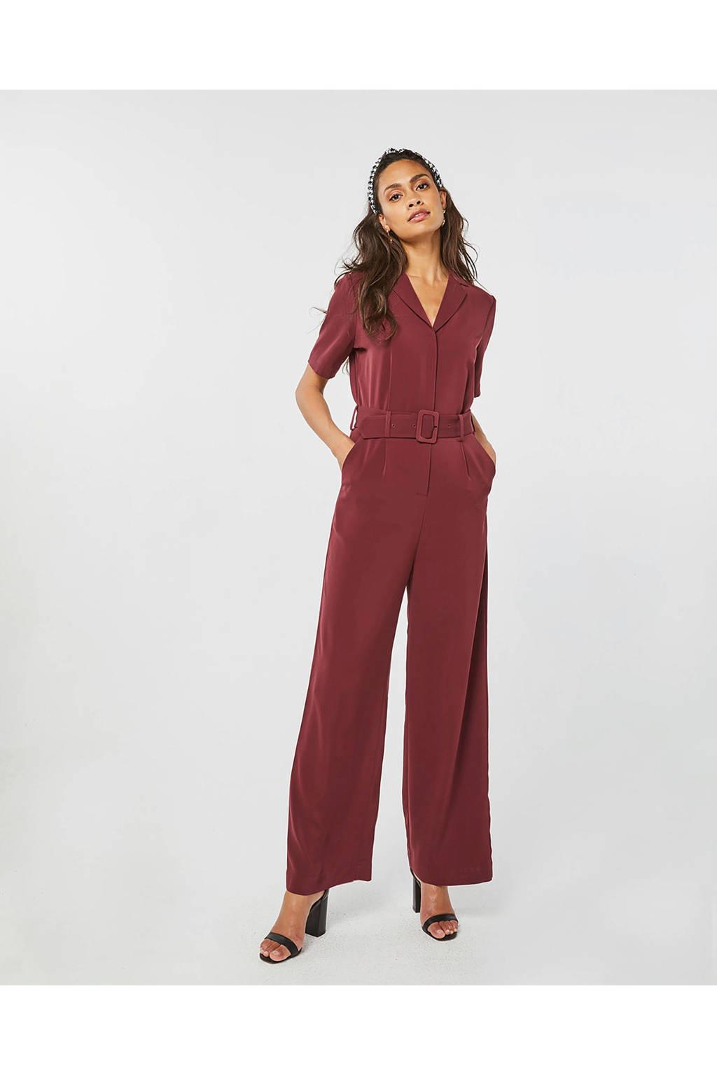 WE Fashion jumpsuit rood, Rood