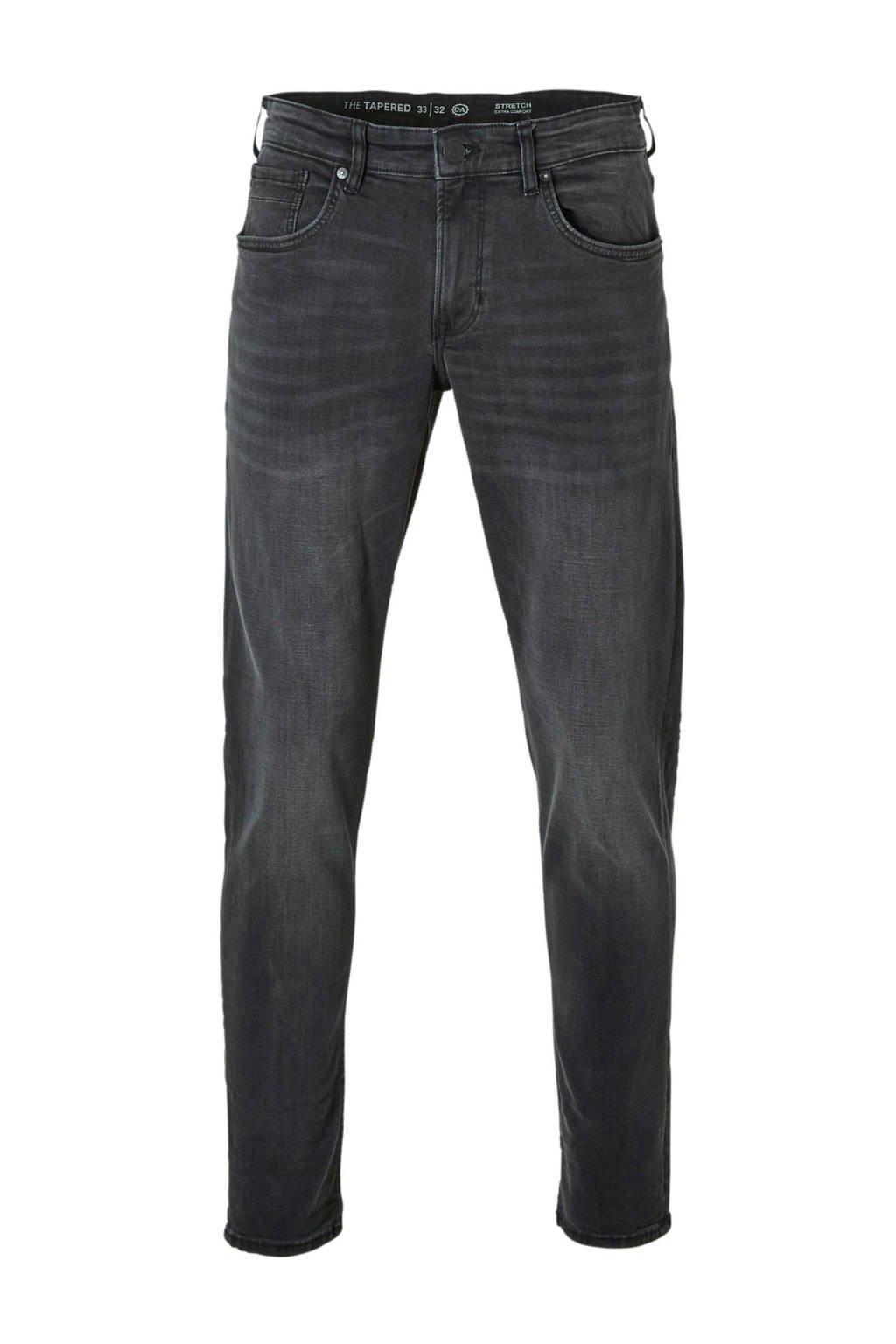 C&A The Denim tapered fit jeans grijs, Grijs