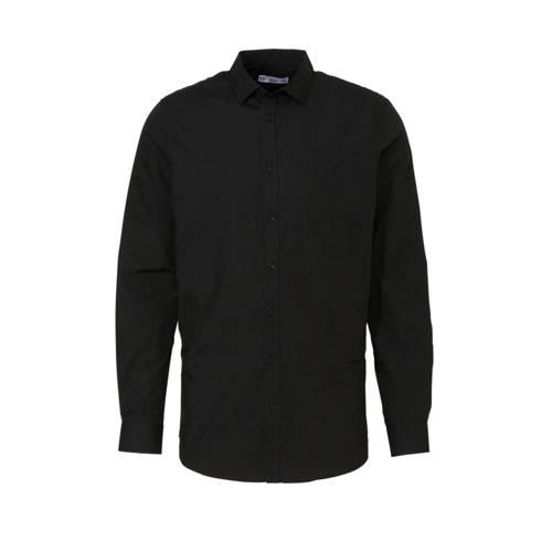 C&A Angelo Litrico slim fit overhemd zwart