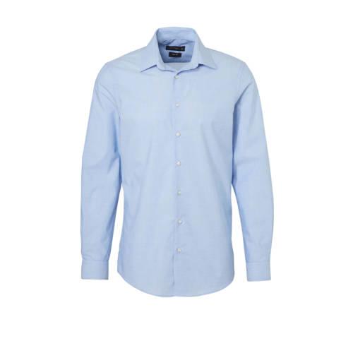 C&A Angelo Litrico slim fit overhemd blauw