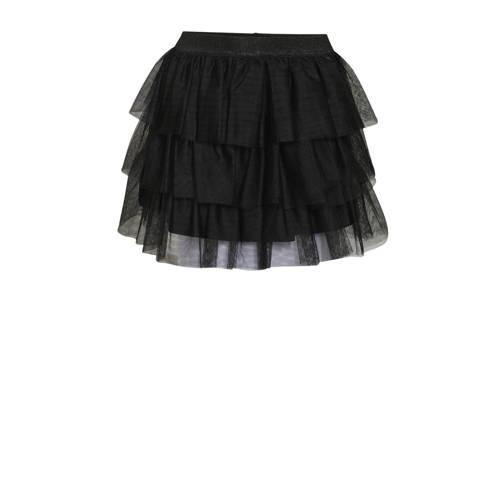 WE Fashion mesh rok zwart