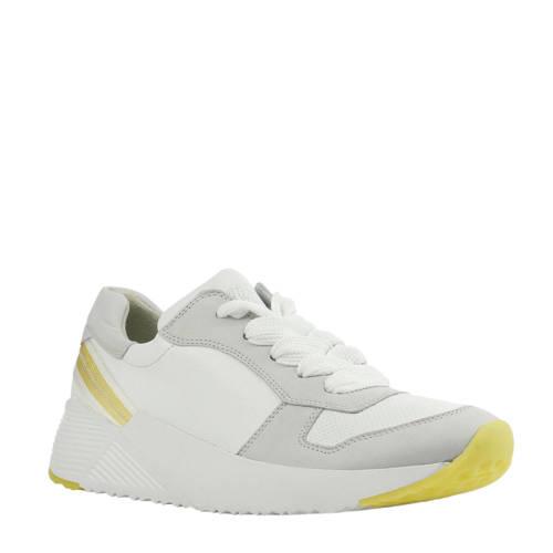 Paul Green 4712 leren sneakers wit