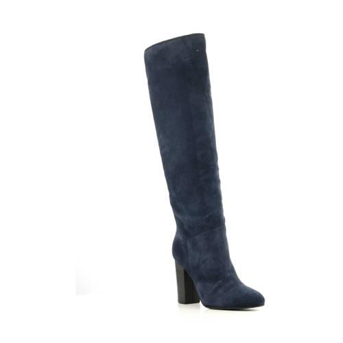Mace suède laarzen donkerblauw kopen