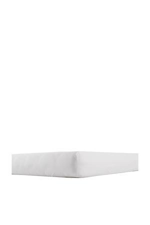 katoenen kleuterbed hoeslaken 70x150 cm Wit