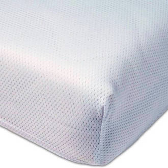 Polyether hoeslaken Airgosafe 40x80 cm Wit