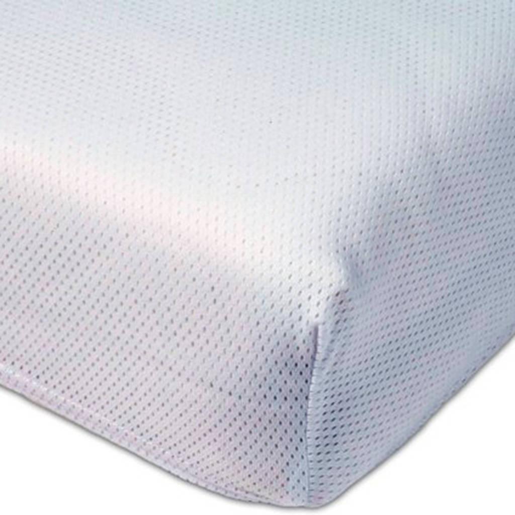 ABZ Polyether ledikant hoeslaken Airgosafe 60x120 cm Wit