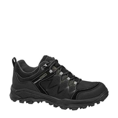 Landrover leren wandelschoenen zwart kopen
