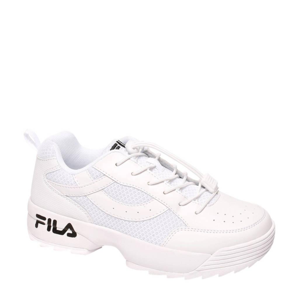 c912b1394ba Fila Chunky sneakers wit/zwart | wehkamp