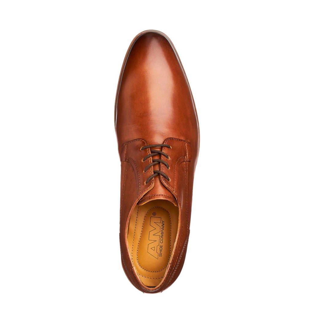 Leren Veterschoenen Shoe Am Am Cognac Shoe UwqT0ftx