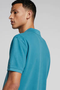 Tommy Jeans regular fit polo blauw, Blauw