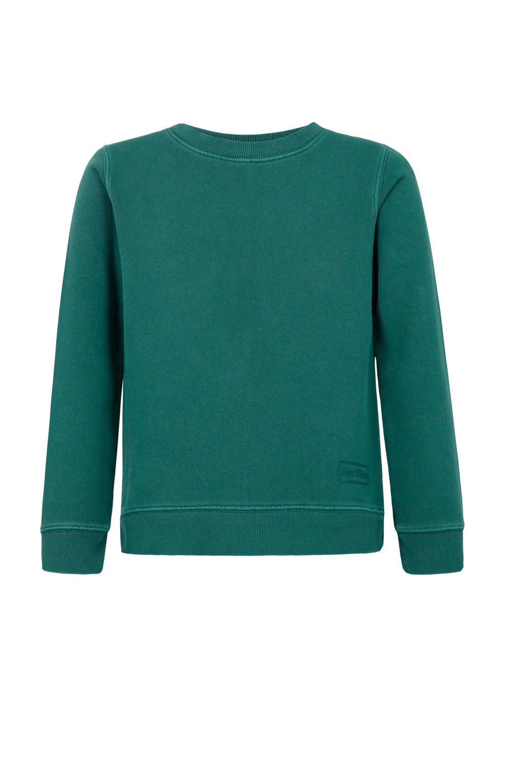 Marc O'Polo sweater met logo groen, Groen