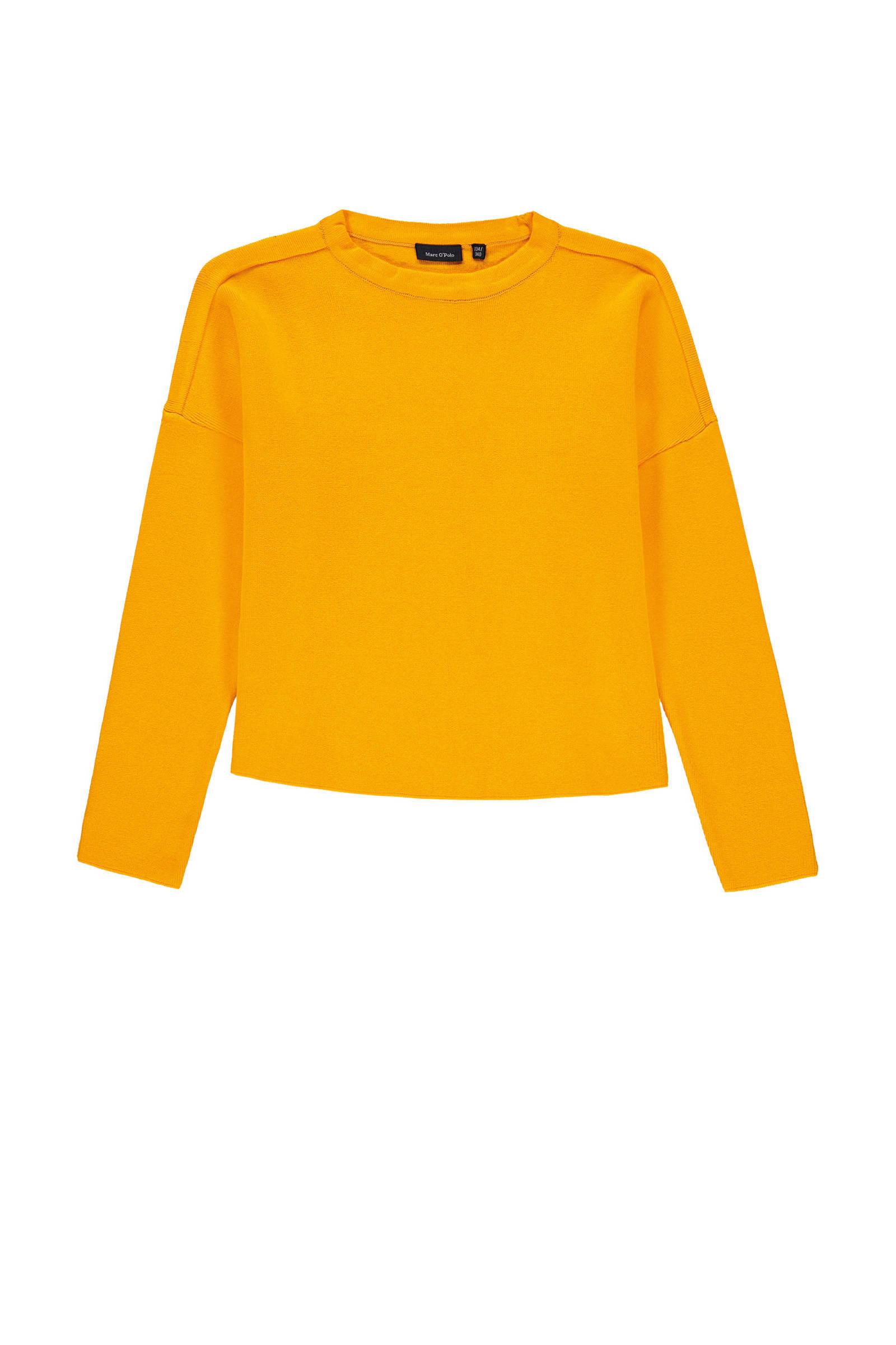 Marc O'Polo trui geel | wehkamp
