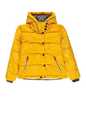 winterjas geel