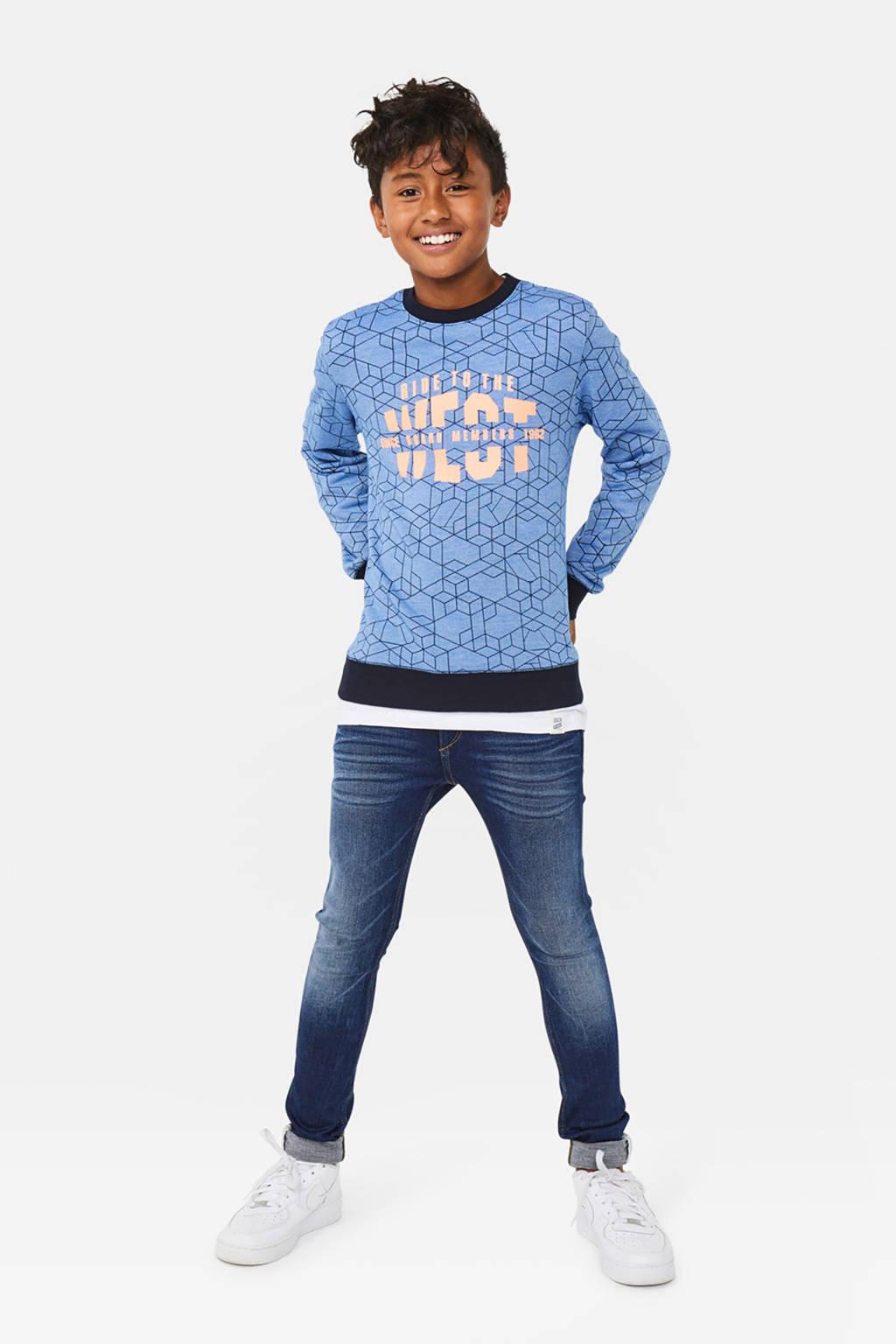 WE Fashion Blue Ridge super skinny jeans Manuel Kyte dark denim, Dark denim