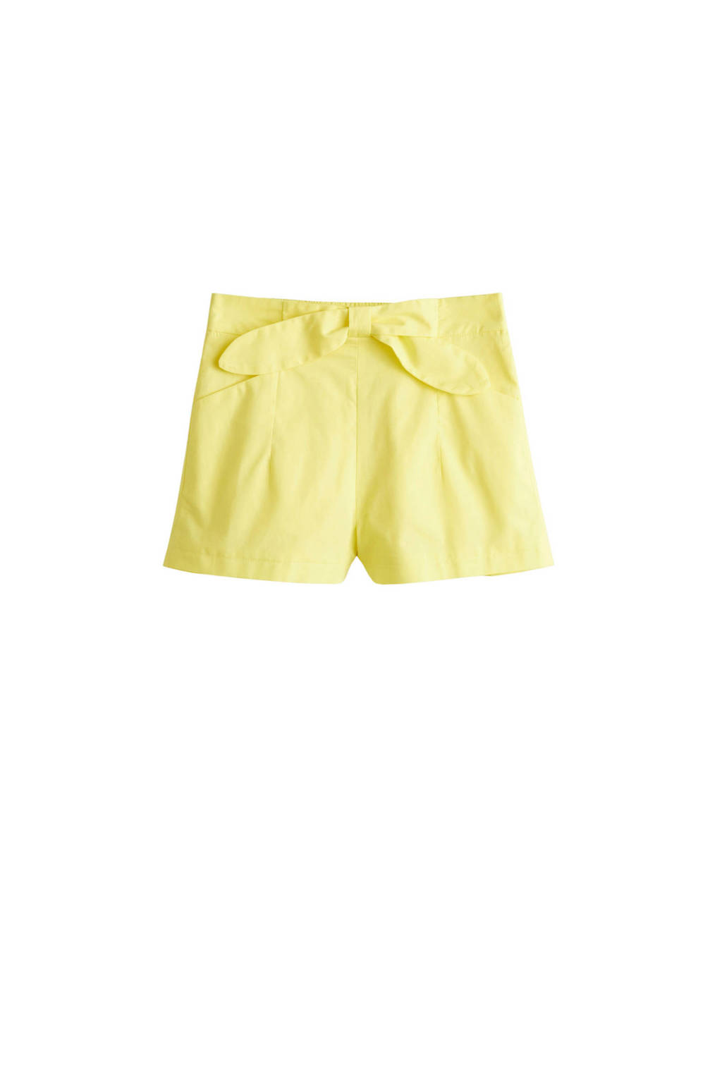 Mango Kids short geel, Geel