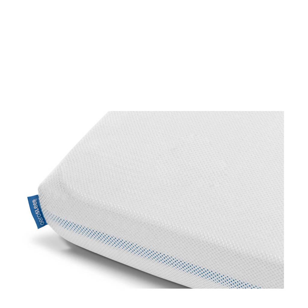 AeroSleep polyester hoeslaken Next 2 Me wieg 66x92 cm Wit