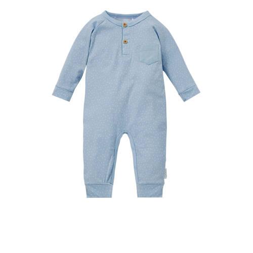 Little Dutch newborn boxpak met all over print blauw