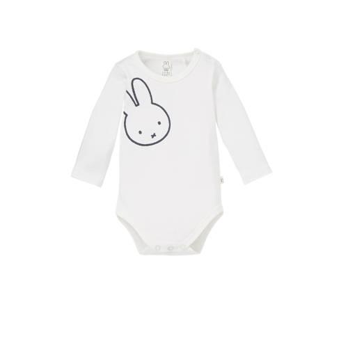 nijntje newborn romper met print wit kopen