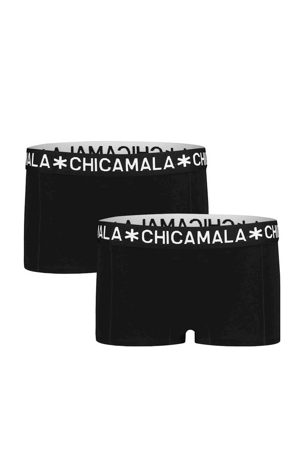 Muchachomalo short - set van 2 zwart, Zwart