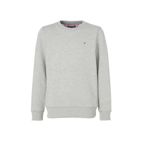 Tommy Hilfiger sweater grijs melange kopen