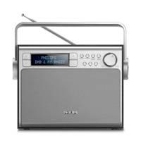 Philips AE5020B/12 draagbare radio, Zwart, zilver