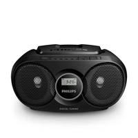Philips AZ215B/12 draagbare radio/CD speler, Zwart