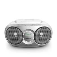 Philips  draagbare radio/CD speler, Zilver