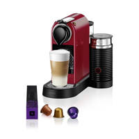 Krups CitiZ & Milk XN7615 Nespresso machine, Rood
