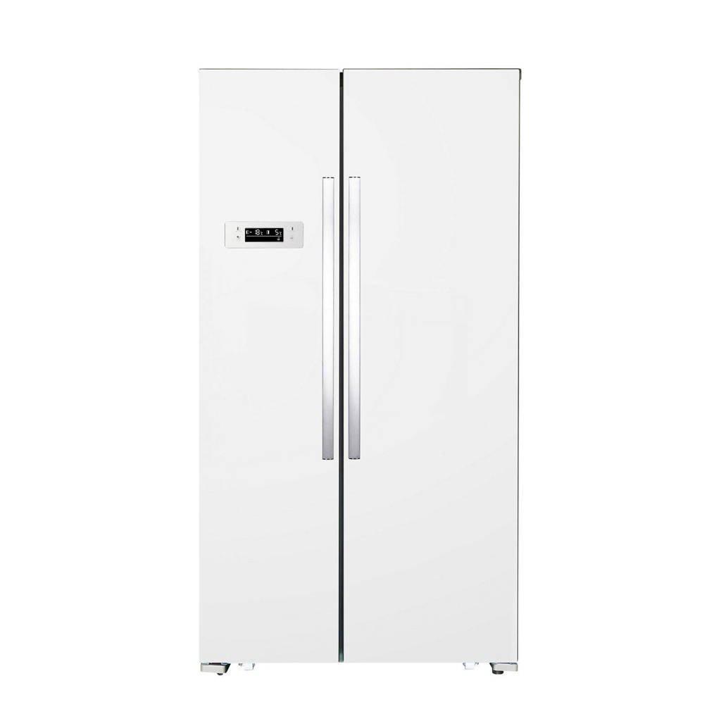 Exquisit  amerikaanse koelkast, Wit
