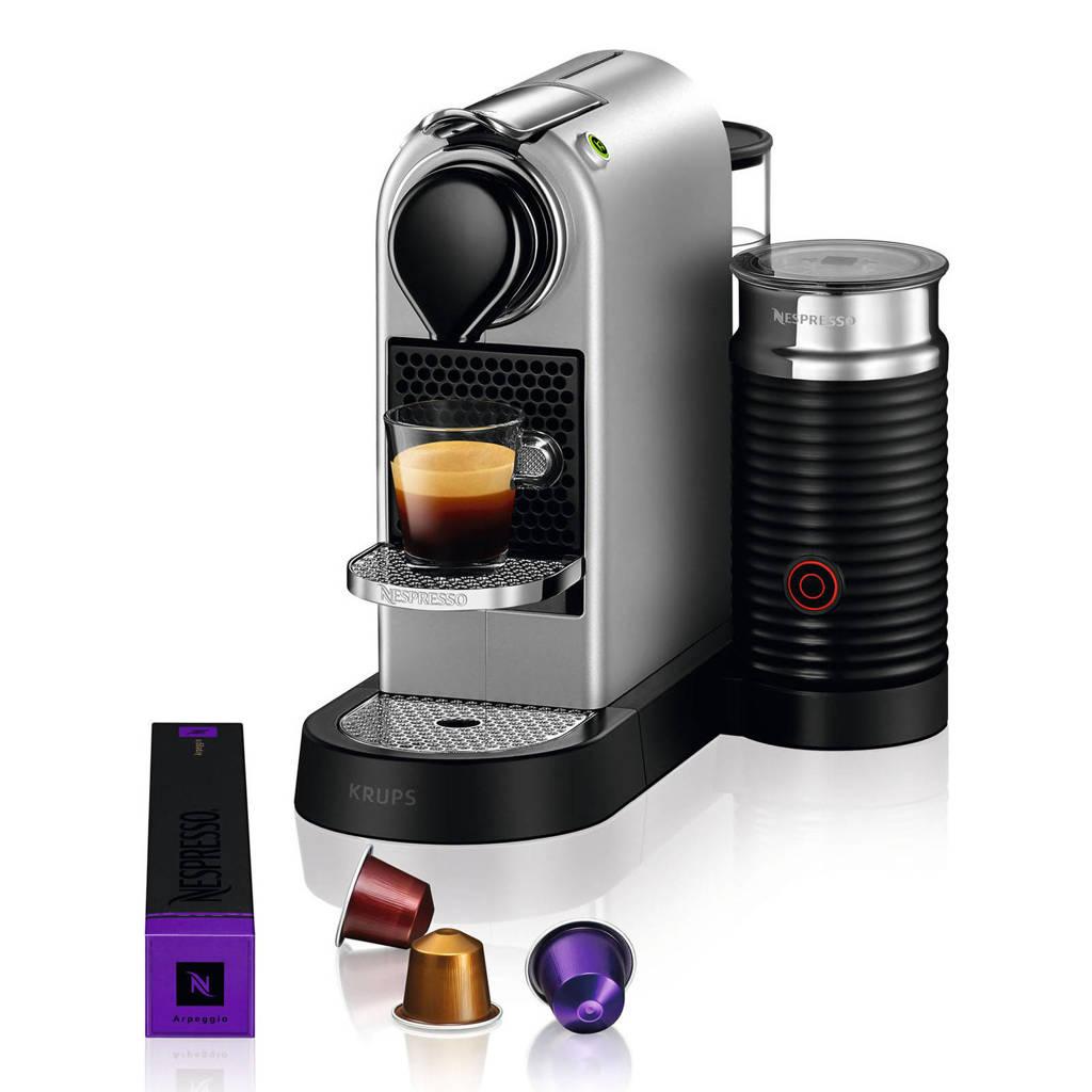 Krups XN761B Nespresso machine, Zilver