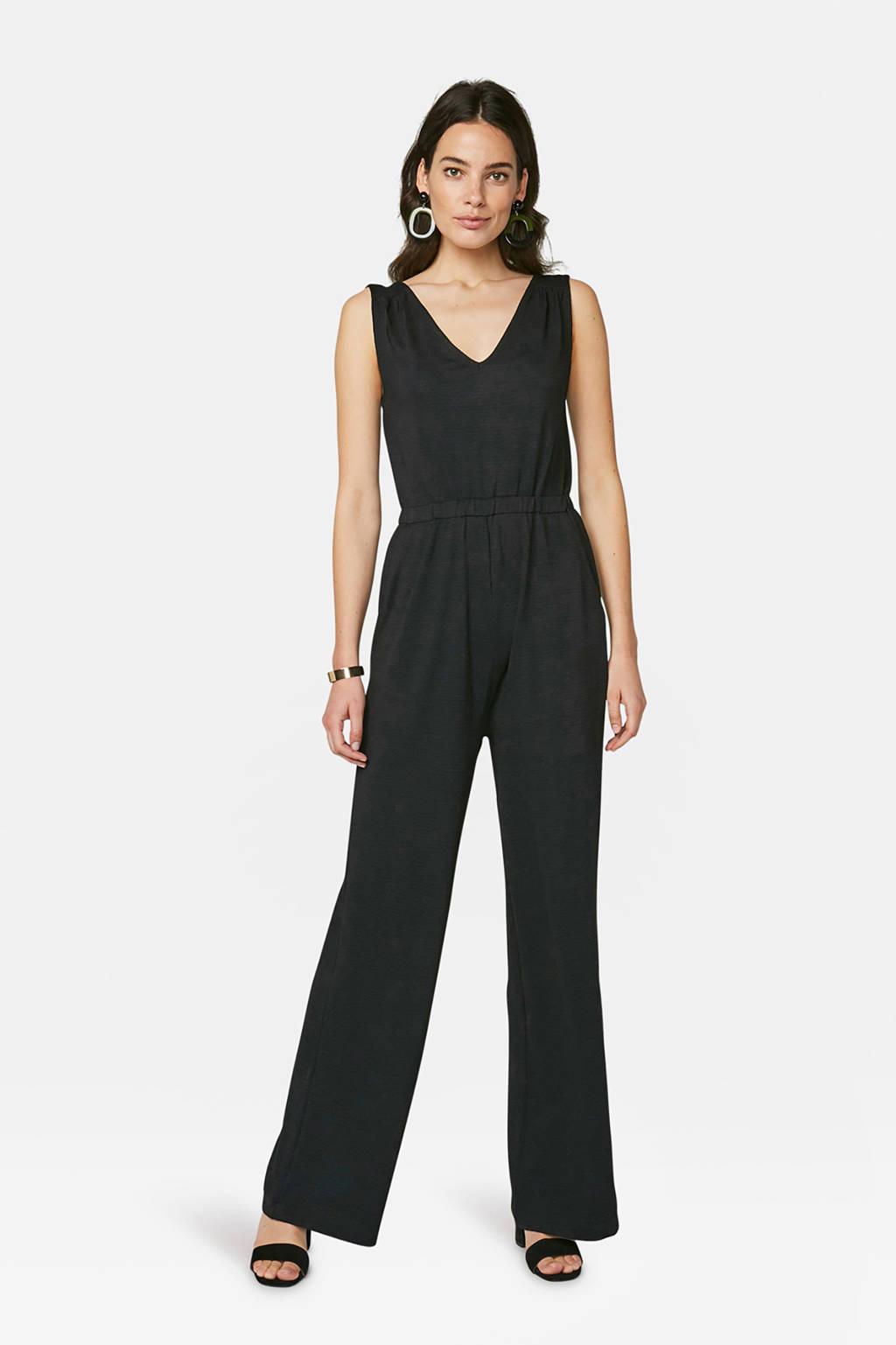 WE Fashion jumpsuit zwart, Zwart