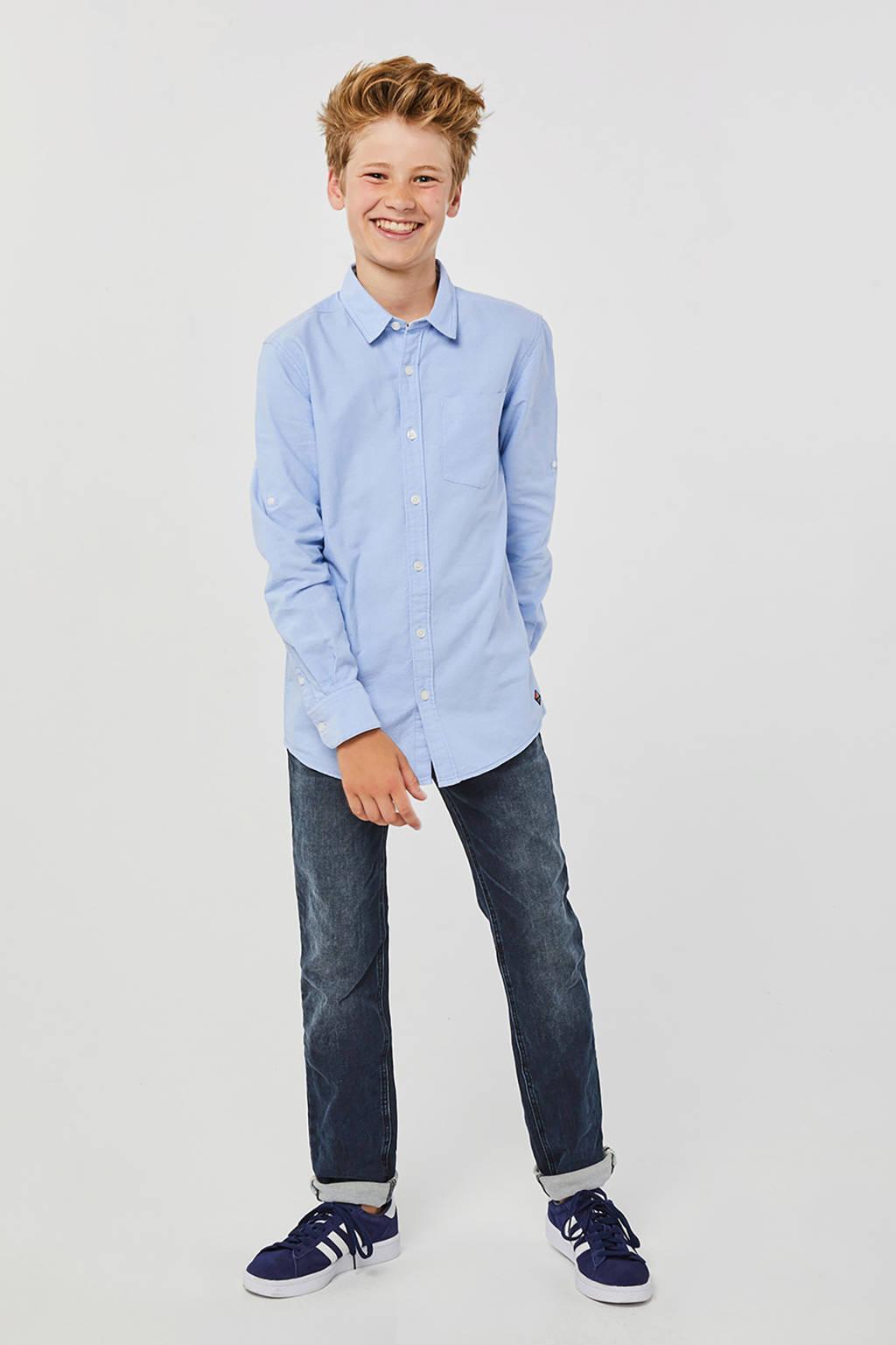 WE Fashion overhemd lichtblauw, Lichtblauw