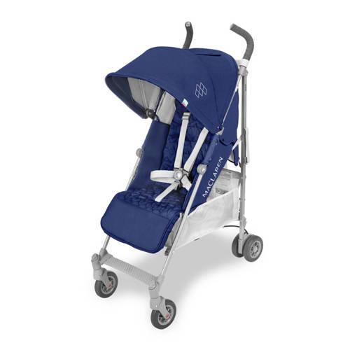 MacLaren Quest buggy blauw-zilver