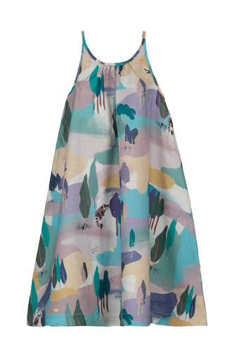 jurk Sisca met all over print