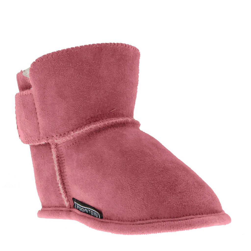 Bergstein Fox babyslofjes roze, Roze