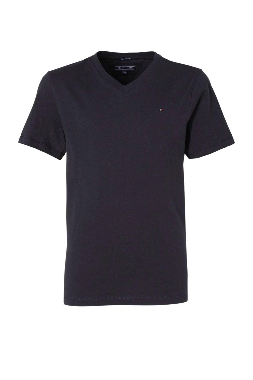 Tommy Hilfiger T-shirt donkerblauw, Donkerblauw