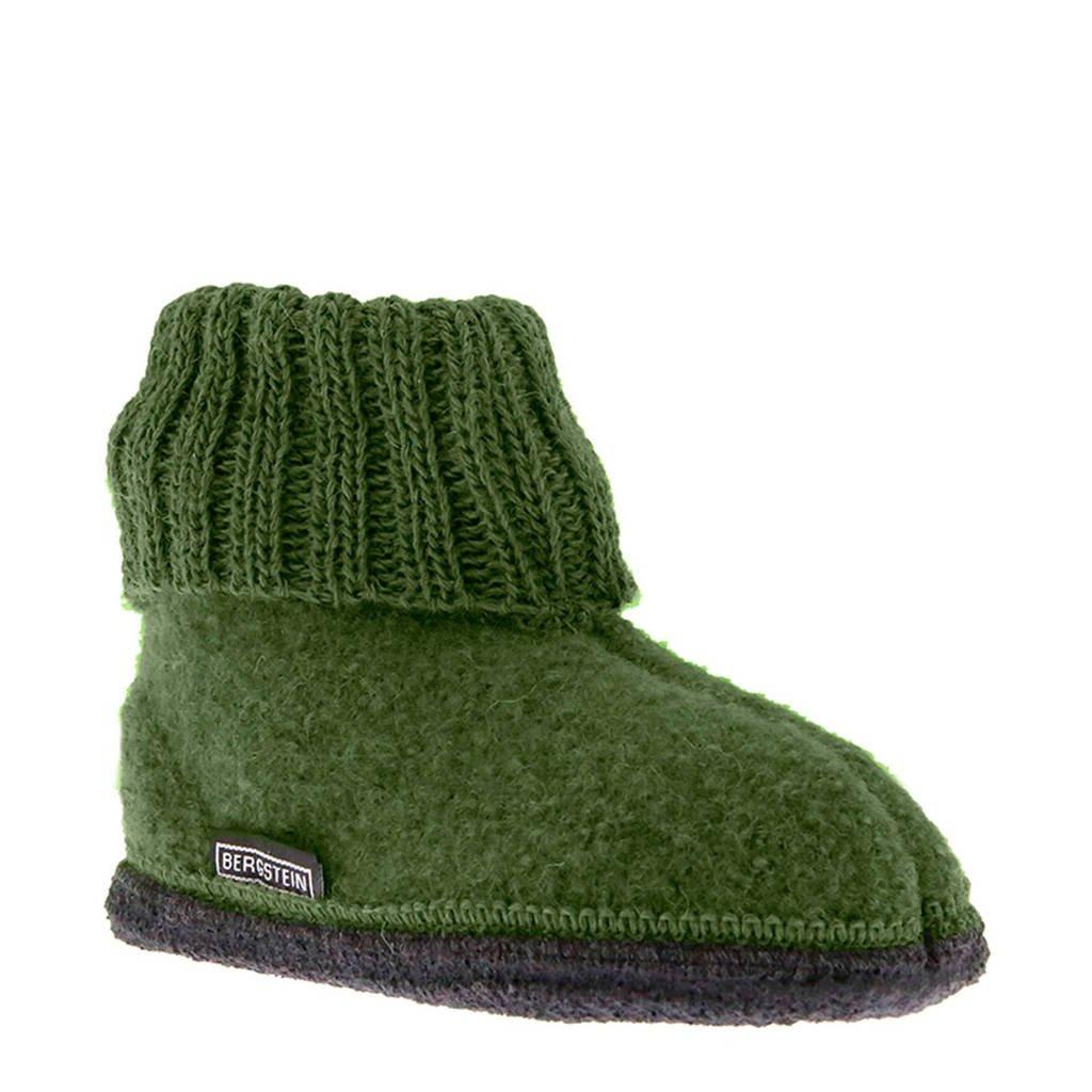 Bergstein Cozy babyslofjes groen, Groen
