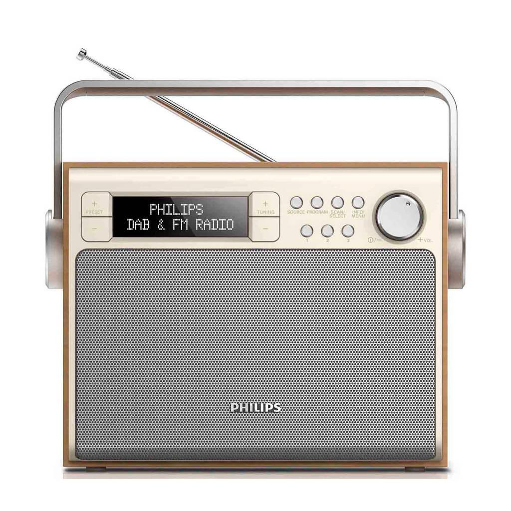 Philips AE5020/12 draagbare radio, Grijs