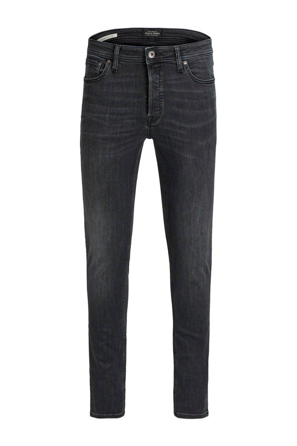 Jack & Jones Jeans Intelligence slim fit jeans Tim, Black denim