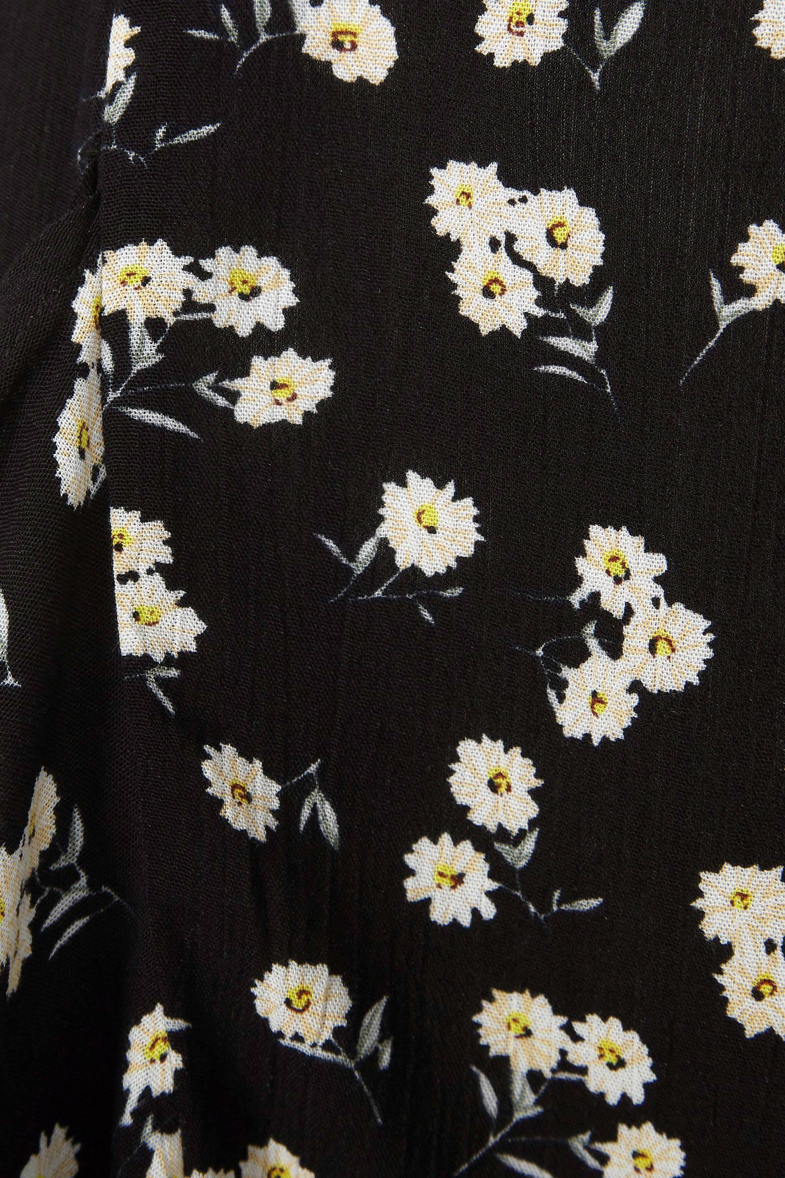 f97ae3d0c27b44 wehkamp crinkle geweven rok met rushes en bloemenprint | wehkamp