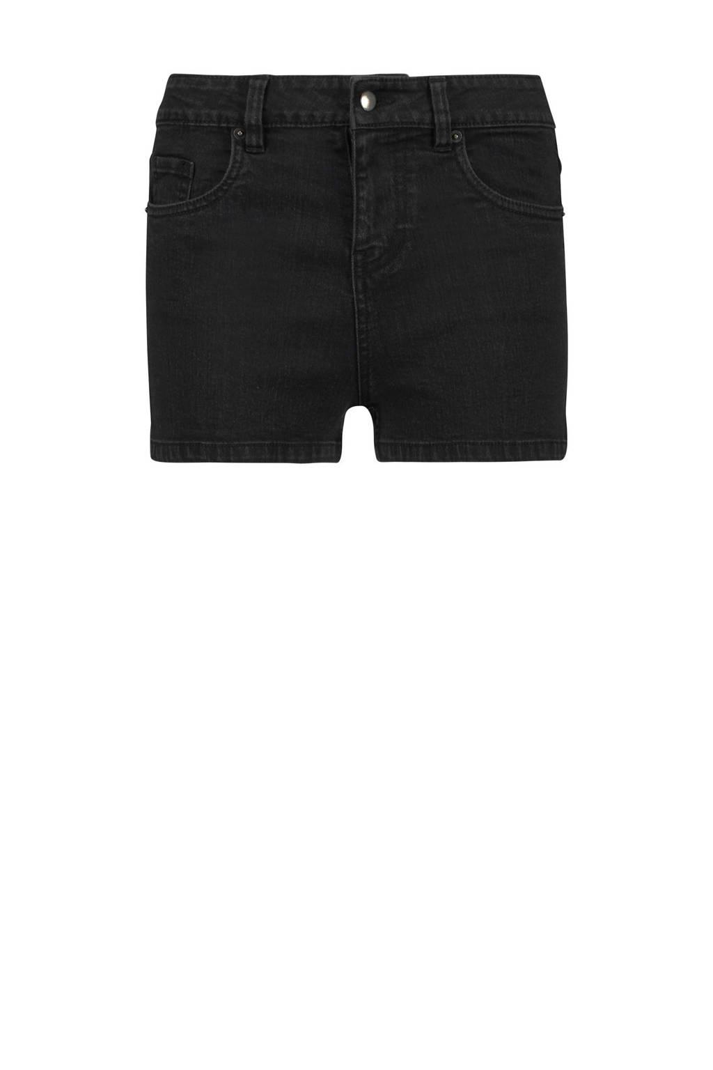 Hunkemöller short Doutzen met stretch zwart, Zwart
